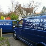 Liverpool Plasterer Vans