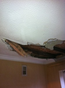 water extraction spot ways to ceiling repair damage emergency hidden